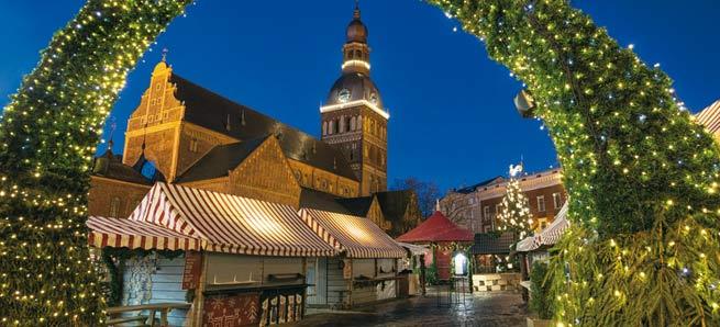 MERCATINI DI NATALE Vilnius Riga e Tallin