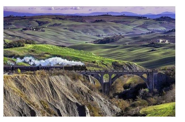 1° NOV Le SALINE di Volterra in Treno a Vapore